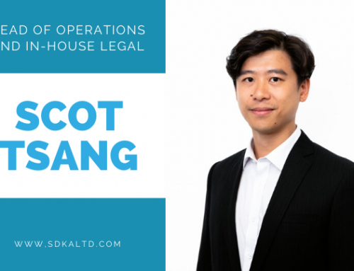 Scot Tsang joins SDKA as Head of Operations and In-house Legal